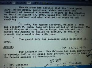 agents didn't testify